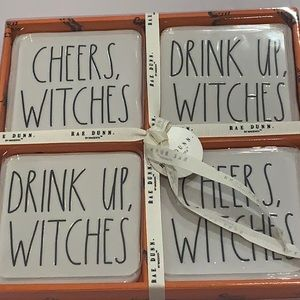 NEW!! Rae Dunn Cheers Witches Drink Up Witches